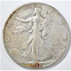 1938-D WALKING LIBERTY HALF VF