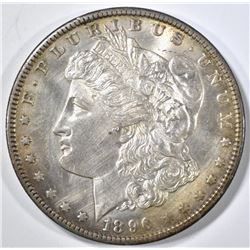 1896-O MORGAN DOLLAR  BU CLEANED