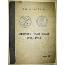 MERCURY DIMES IN ALBUM 1916-1945
