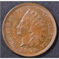1902 INDIAN HEAD CENT  CH/GEM BU