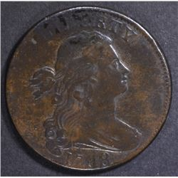 1798 LARGE CENT  XF  OFF CENTER