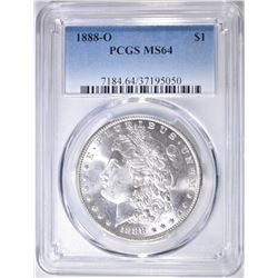 1888-O MORGAN DOLLAR  PCGS MS-64