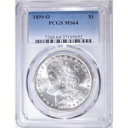 1899-O MORGAN DOLLAR  PCGS MS-64
