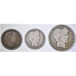 BARBER COIN LOT: