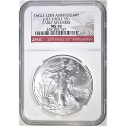 2011 ASE NGC MS-70 EARLY RELEASES