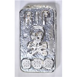 3 TROY OZ .999 SILVER TOMBSTONE