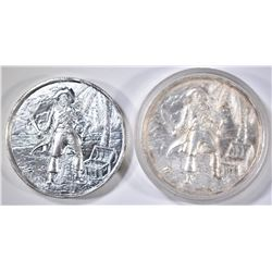 2 2 TROY OZ PIRATE CAPTAINS