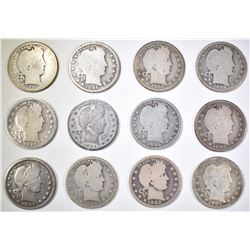 12 BARBER QUARTER LOT: