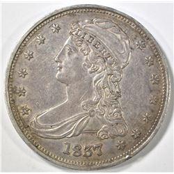 1837 BUST HALF DOLLAR CH AU