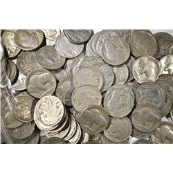 150-MIXED DATE AVE CIRC BUFFALO NICKELS
