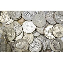 50-90% SILVER WASHINGTON QUARTERS