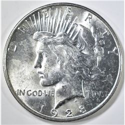 1928-S PEACE DOLLAR  GEM BU
