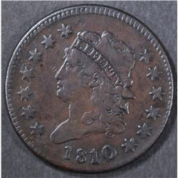 1810/09 LARGE CENT  VF/XF