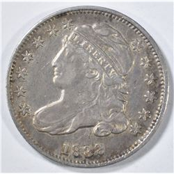 1832 BUST DIME  XF