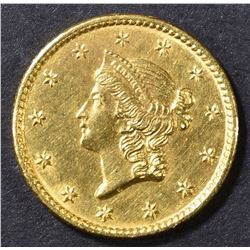 1851-C $1 GOLD  LIBERTY  BU