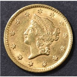 1853 $1 GOLD  LIBERTY  CH BU