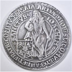 1520-1967 LARGE SILVER MEDIEVAL DUCATON COMMEM