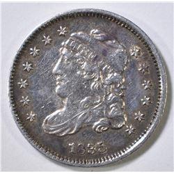 1835 BUST HALF DIME AU