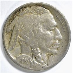 1915-S BUFFALO NICKEL FINE