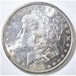 1878 8 TF MORGAN DOLLAR BU