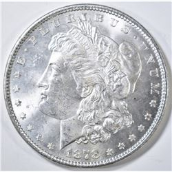 1878 7/8 TF  MORGAN DOLLAR STRONG, CH BU