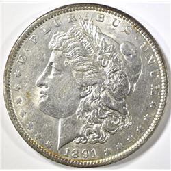 1891 MORGAN DOLLAR, BU