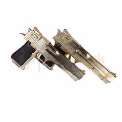 Resident Evil: Extinction Golden Desert Eagle Guns