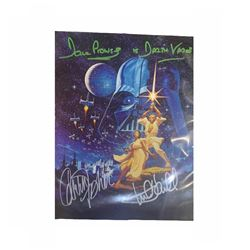 Star Wars Autographed 8x10 Photograph
