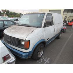 1985 Chevrolet Astro Van