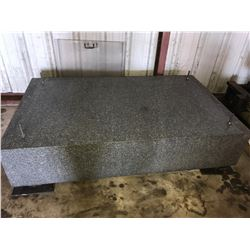 "72"" x 44"" x 16"" Thick Granite Base"