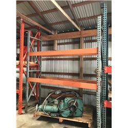 "(1) Section Pallet Racking 9' Tall x 7'4"" Long x 24"" Deep"