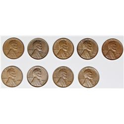 LINCOLN CENT LOT: