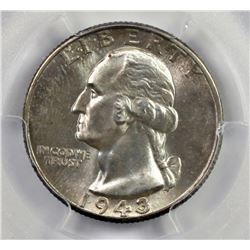 1943 WASHINGTON QUARTER