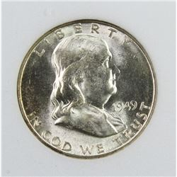 1949-S FRANKLIN HALF DOLLAR