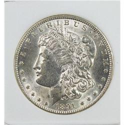 1891-CC MORGAN SILVER DOLLAR