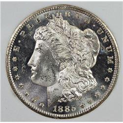 1885-CC MORGAN SILVER DOLLAR