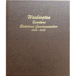 WASHINGTON STATEHOOD QUARTER SET IN DANSCO ALBUM