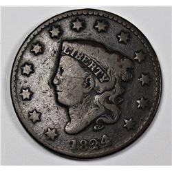 1824/2 LARGE CENT