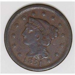1851/81 LARGE CENT