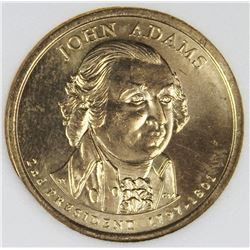 2007 JOHN ADAMS MINT ERROR DOLLAR