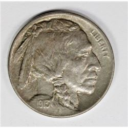 1913-D TYPE 1 BUFFALO NICKEL
