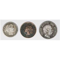 THREE COIN LOT