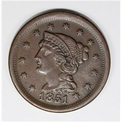 1851/81 LARCE CENT