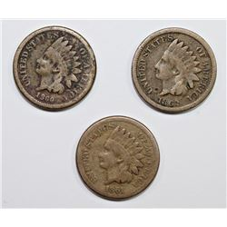 3- INDIAN CENTS