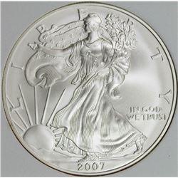 2007- W AMERICAN SILVVER EAGLE