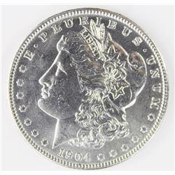 1904  MORGAN SILVER DOLLAR DOLLAR