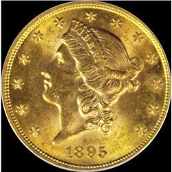 1895 $20.00 GOLD LIBERTY
