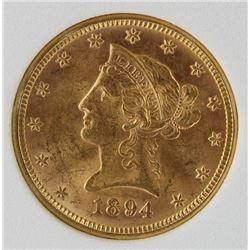 1894 $10 GOLD LIBERTY