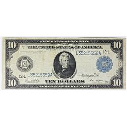 1914 $10.00 FEDERAL RESERVE NOTE