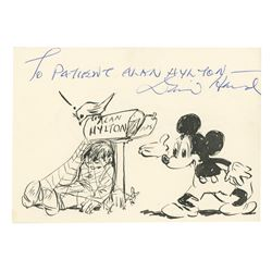 Mickey Mouse Drawing by David Hand.